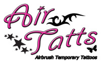 Air Tatts Airbrush Temporary Tattoos